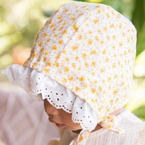Other - Handmade Ruffle Brim Bonnet